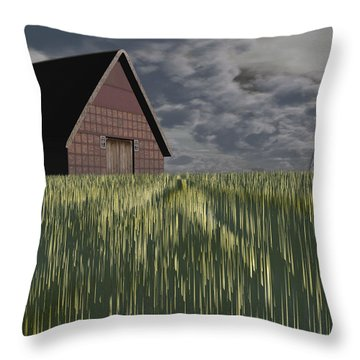 Twister Throw Pillow by Michele Wilson