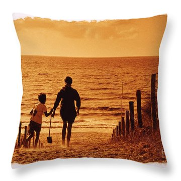 Two At Sea Throw Pillow