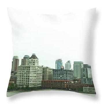 Two Bridges Throw Pillow
