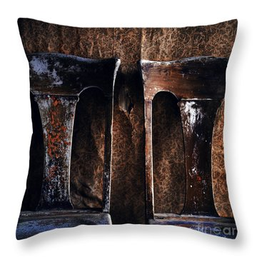 Two Chairs Throw Pillow