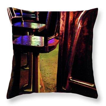 Two Fifteen Am Throw Pillow by Joe Jake Pratt