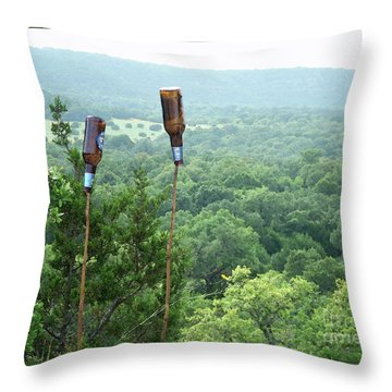 Two For The Road Throw Pillow