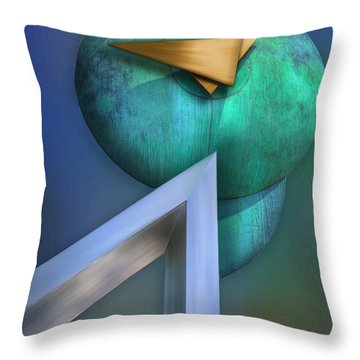 Throw Pillow featuring the photograph One Forty Seven by Paul Wear