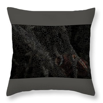 Two Hands On The Piano Throw Pillow