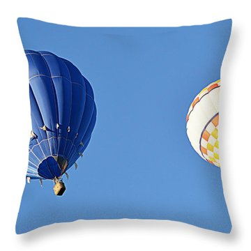Two High In The Sky Throw Pillow