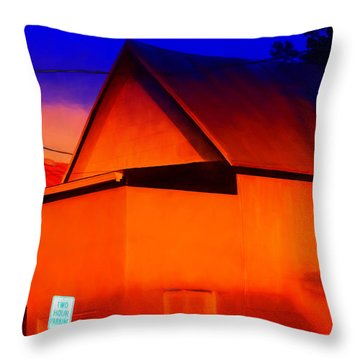 Two Hour Parking Throw Pillow
