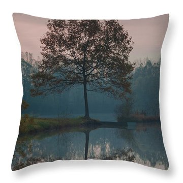 Two Loners Throw Pillow