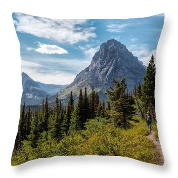 Two Medicine Valley Throw Pillow