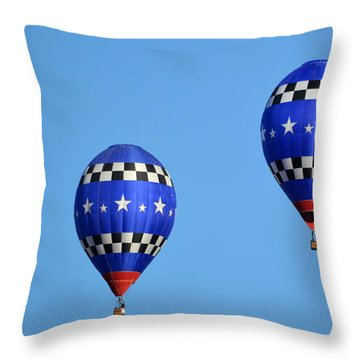 Throw Pillow featuring the photograph Two Of A Kind by AJ Schibig