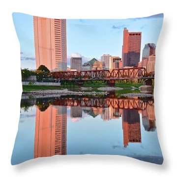 Throw Pillow featuring the photograph Two Of Everything by Frozen in Time Fine Art Photography
