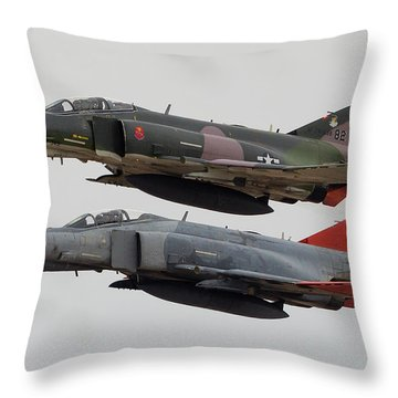 Two Of Four Throw Pillow