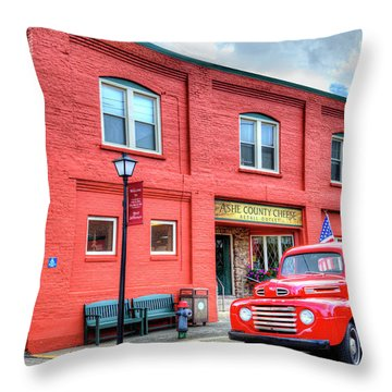 Two Old Classics Throw Pillow by Dale R Carlson