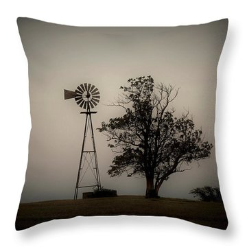 Two Old Friends Throw Pillow