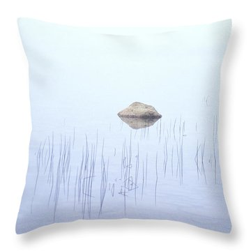Two Rocks Throw Pillow