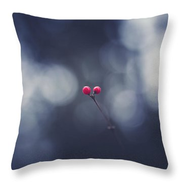 Throw Pillow featuring the photograph two by Shane Holsclaw