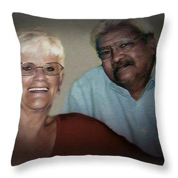 Two The Best Throw Pillow