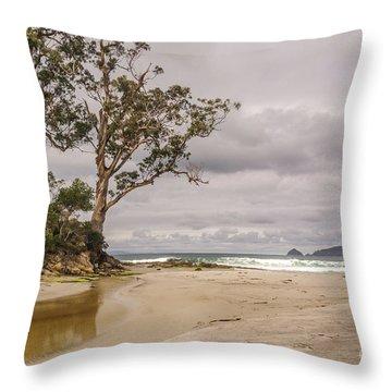 Two Tree Point Throw Pillow