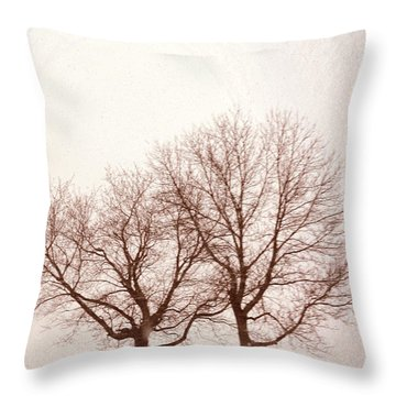 Two Trees#1 Throw Pillow