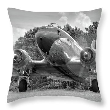 Two Turning Throw Pillow