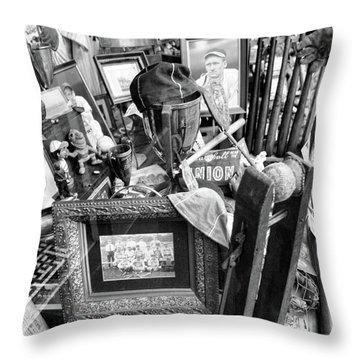Ty Cobb Old Times Baseball  Throw Pillow