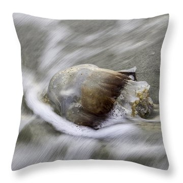 Tybee Isalnd Jellyfish Throw Pillow