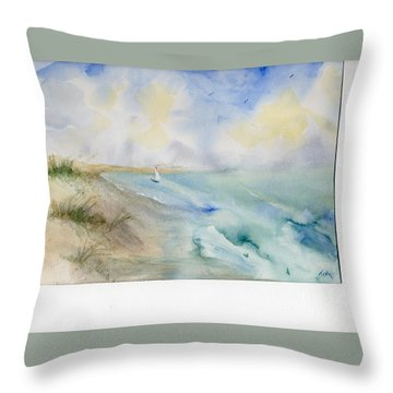Tybee Memory Throw Pillow