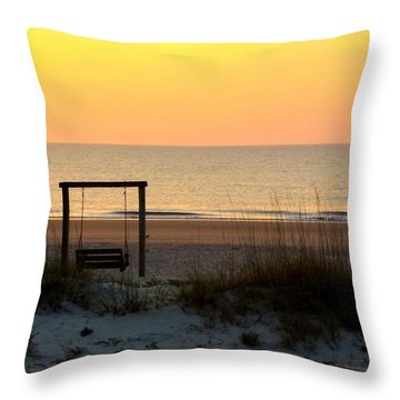 Tybee Swing Throw Pillow
