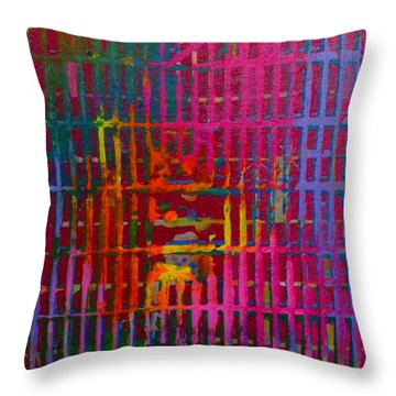 Tye Dye Throw Pillow