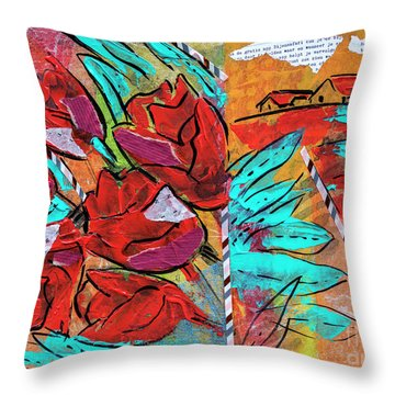 typical Holland Throw Pillow