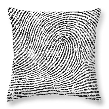 Typical Loop Pattern, 1900 Throw Pillow by Science Source