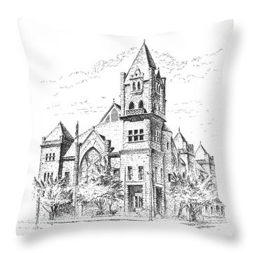 Tyrrell Historical Library Throw Pillow