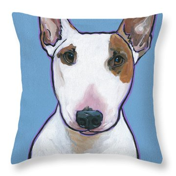 Tyson Throw Pillow by Nadi Spencer