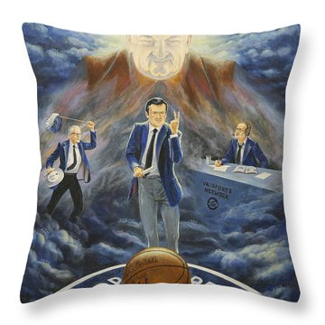 U Of K Tradition Throw Pillow