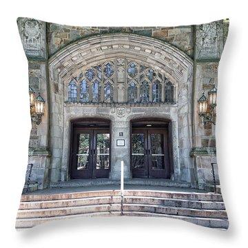 U Of M Law Libray Throw Pillow