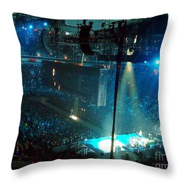 U2 Innocence And Experience Tour 2015 Opening At San Jose. 1 Throw Pillow