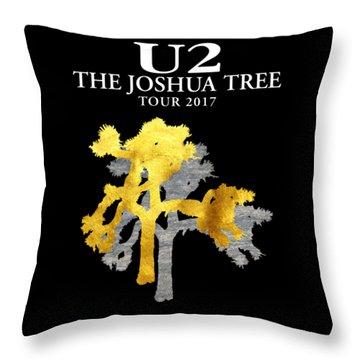 U2 Joshua Tree Throw Pillow