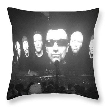 U2 Tampa Throw Pillow