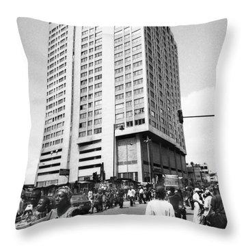 Uba Bank Marina Throw Pillow