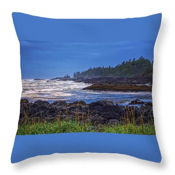 Ucluelet, British Columbia Throw Pillow