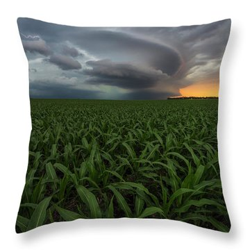 Throw Pillow featuring the photograph UFO by Aaron J Groen