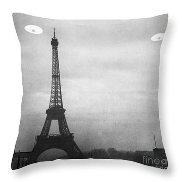 Ufo: Paris Throw Pillow by Granger
