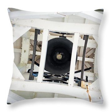 Throw Pillow featuring the photograph Uga Chapel Bell by Parker Cunningham