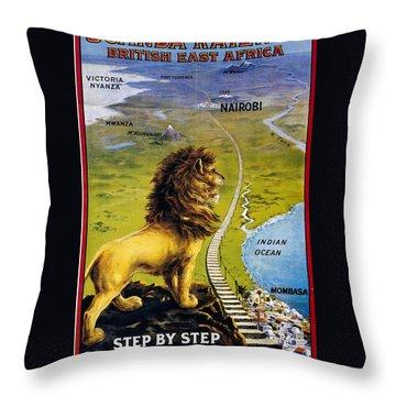 Uganda Throw Pillows