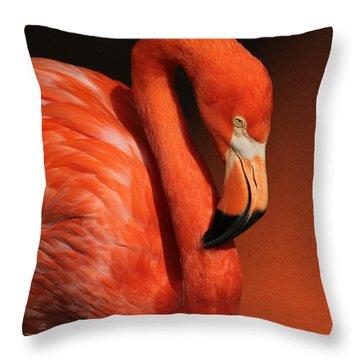 Ultimate Orange Throw Pillow