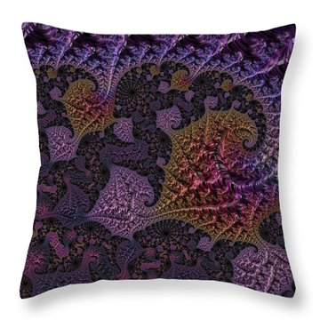 Ultra Leaf 1 Throw Pillow
