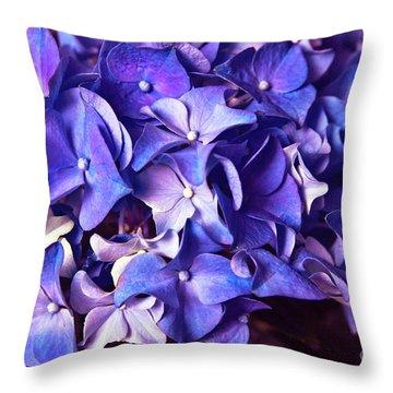 Ultra Violet Dance Throw Pillow