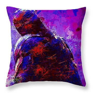 Ultron Throw Pillow