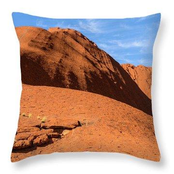 Throw Pillow featuring the photograph Uluru 04 by Werner Padarin
