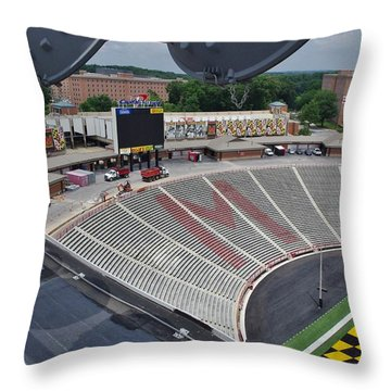 Throw Pillow featuring the photograph UM by Robert Geary