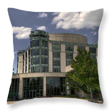 Umbc  Throw Pillow by Lois Bryan